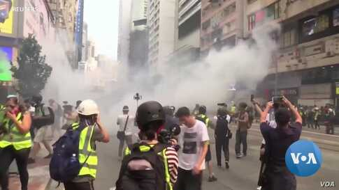 US Tech Firms Drawn Into Hong Kong Protesters Standoff With China