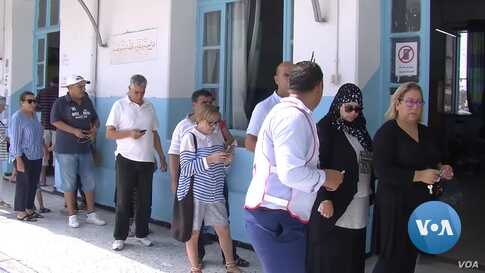 Tunisians Vote in Presidential Elections Amid Grim Economic Backdrop