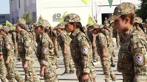 Women's Self-Defense Forces Open First Academy in Northeastern Syria