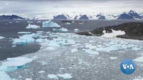 Thaw Threatens Frozen Continent Protected by International Treaty