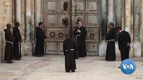 Christians in the Holy Land Prepare to Celebrate Easter