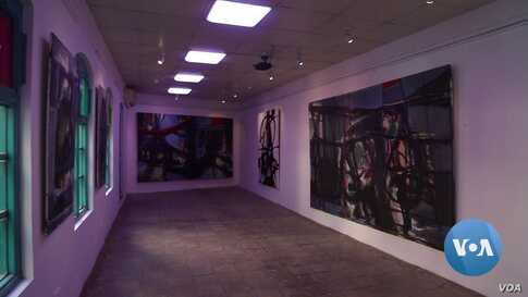 A Painting Exhibition Tells Iraqi Stories