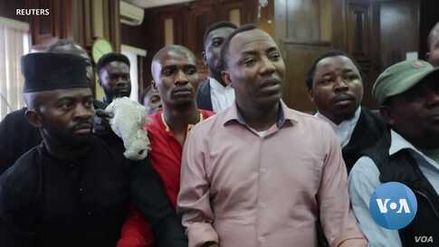 Advocates Say Nigeria's Government Aim is to Silence Dissent with Charges Against Journalist Omoyele Sowore