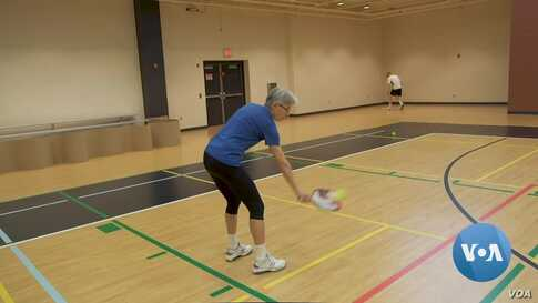 Pickleball Coach Proves Age Doesn't Matter in Sports