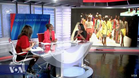 VOA Our Voices 213: Runway to Racks, Moving Africa's Fashion Forward
