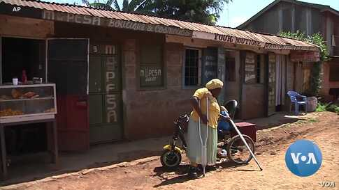 Kenyan Builds Powered Wheelchairs to Handle Tough Terrain