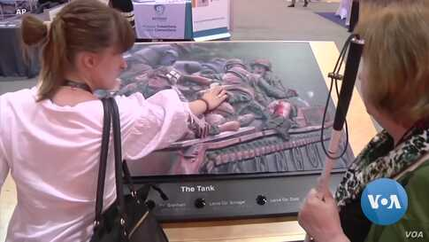 Technology Helps People who are Visually Impaired to 'See' Art