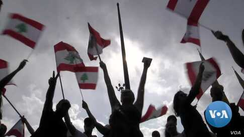 Lebanese Protests Default to Social Media
