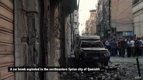 IS Claims Attack on Christians in Syria's Qamishli