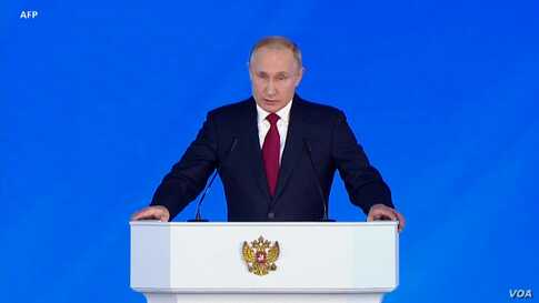 Analyst: Putin Proposes Changes that Could Help Keep Him in Power After 2024