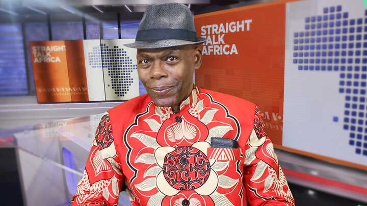 Shaka Ssali, host of Straight Talk Africa.