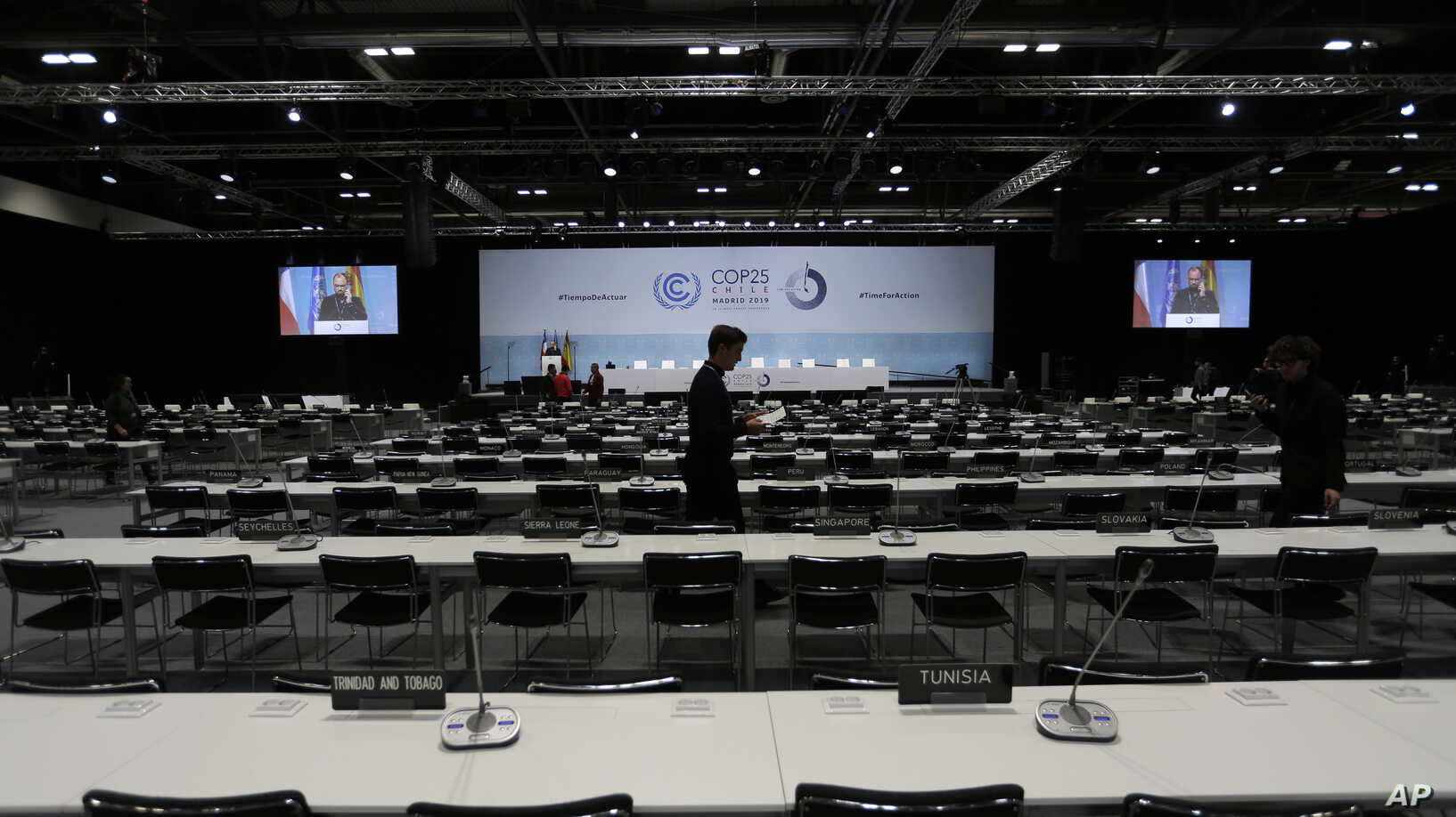 Climate Talks to Open in Madrid Amid Dire Warnings