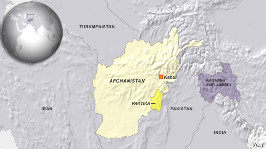 Paktika region of Afghanistan