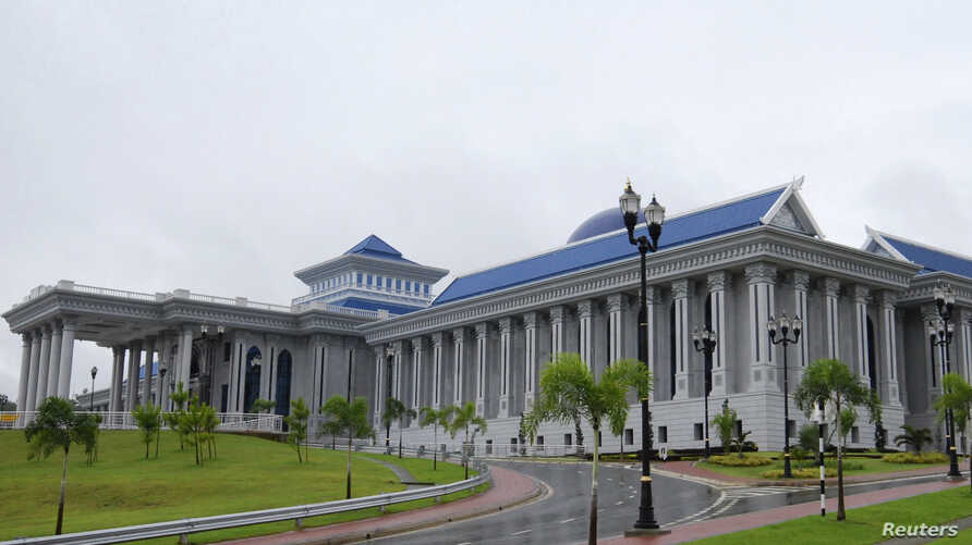 FILE - A general view of Brunei's new Legislative Council Building during its opening in Bandar Seri Begawan, March 4, 2008.