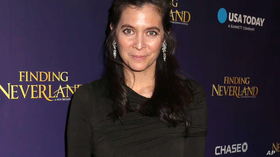 """FILE - Diane Paulus, director of the musical """"Waitress,"""" attends a party following the opening night of """"Finding Neverland"""" on Broadway in New York, April 15, 2015."""