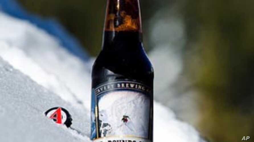 """This photo of Avery Brewing Company's """"Out of Bounds"""" seas"""