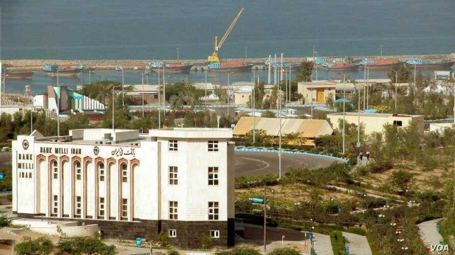 FILE – The Chabahar port in Iran is shown. Pakistani autho