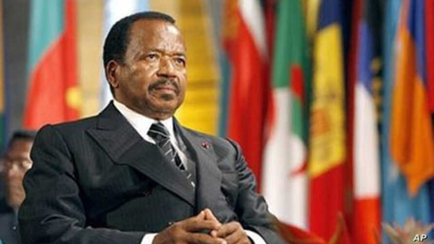 Cameroon's long-time President Paul Biya is accused by an opposition leader of undermining the country's constitution.