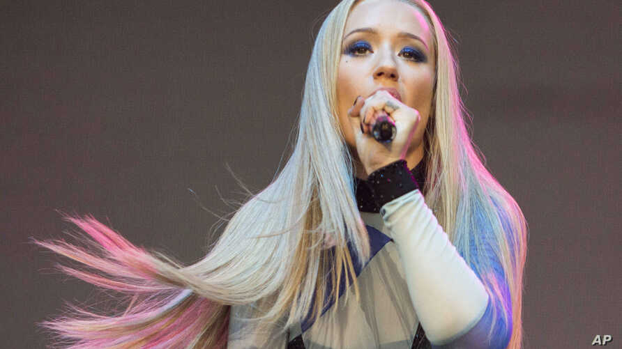Amethyst Amelia Kelly also known as Iggy Azalea performs during Music Midtown 2014 at Piedmont Park on Sept. 19, 2014, in Atlanta.
