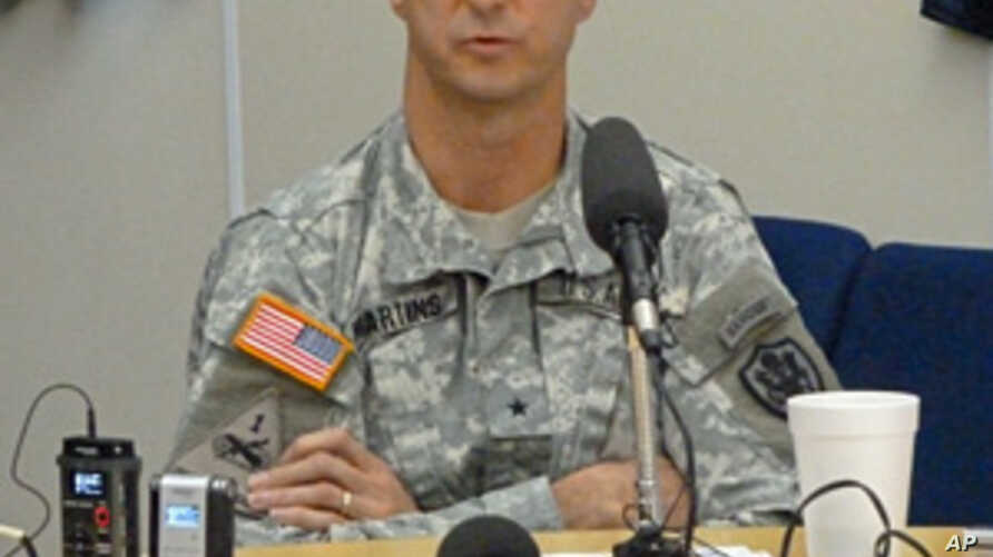 Army Brigadier General Mark Martins the current Chief Prosecutor, Office of Military Commissions PICS, Nov 8, 2011