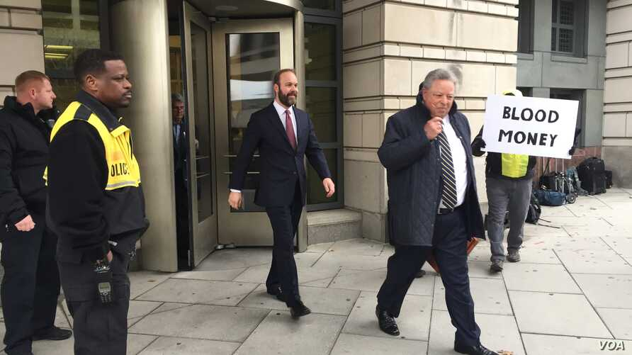 Rick Gates, a former associate of President Donald Trump's 2016 election campaign leaves a U.S. Federal Court House after pleading guilty to lying and conspiracy charges filed against him by Special Counsel Robert Mueller, Feb. 23, 2018. (Photo: M. F