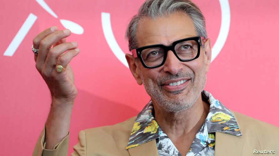 "Actor Jeff Goldblum attends the photo call for the film ""The Mountain"" at the 75th edition of the Venice Film Festival in Venice, Aug. 30, 2018."