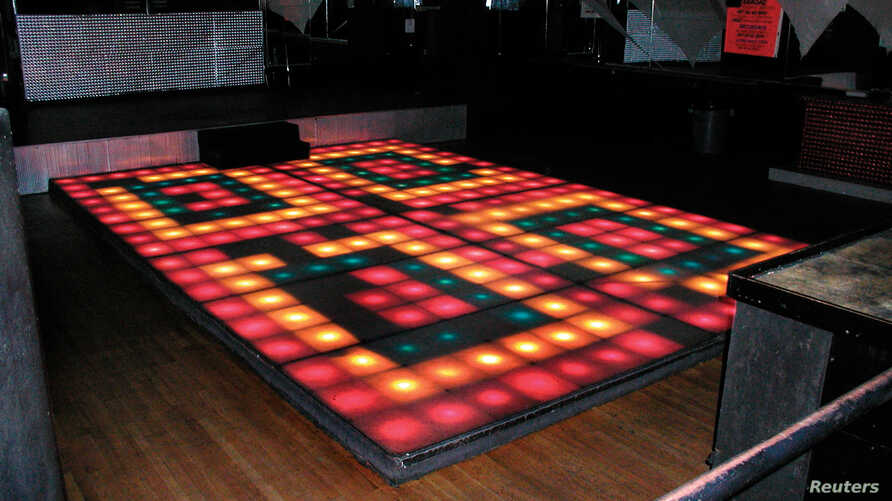 "The original disco floor from the 1977 movie ""Saturday Night Fever"" is shown in this handout provided by Profiles in History auctioneers in Calabasas, Calif., May 31, 2017."