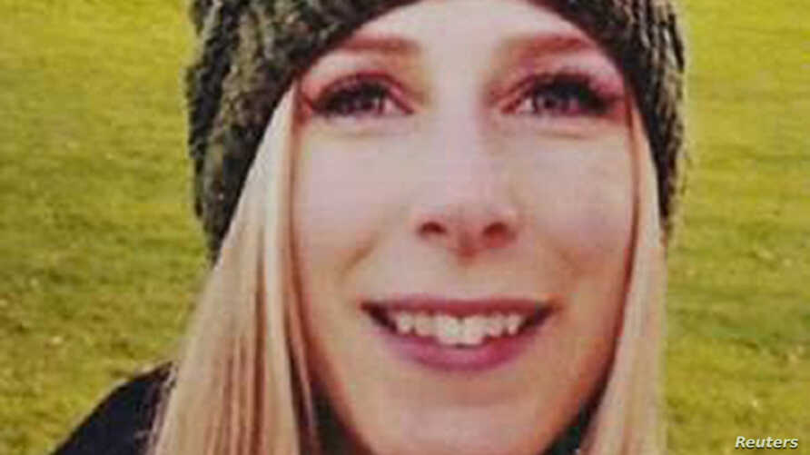 Christine Archibald, originally from Castlegar, British Columbia, is seen in an undated photo released by her family June 4, 2017, after it was announced that she was killed in the London Bridge area attacks.