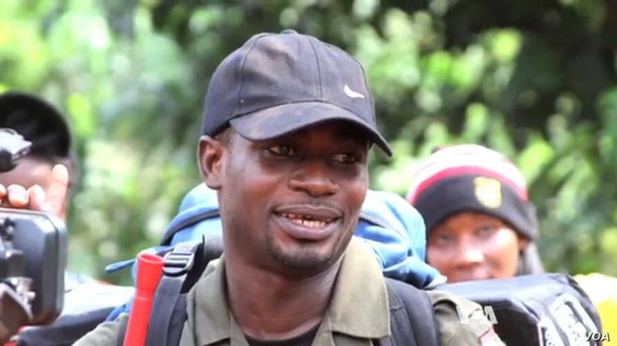 """Dziedzorm """"Jay Jay"""" Segbefia from Ghana is one of the participants in the 2014 Young African Leaders Fellowship."""