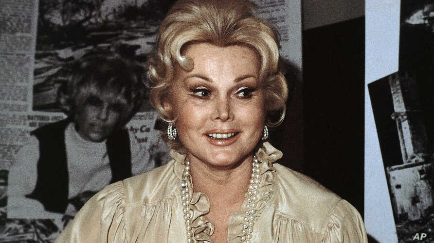 FILE - Hungarian-born American actress Zsa Zsa Gabor is seen in a portrait taken in 1978.