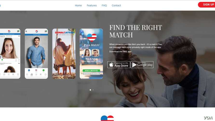 Dating-Homepage