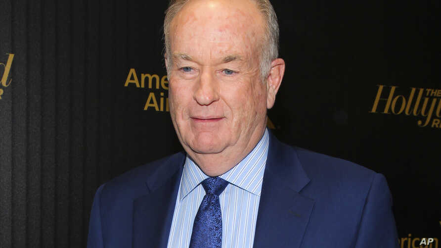 "FILE - In this April 6, 2016, photo, Bill O'Reilly attends The Hollywood Reporter's ""35 Most Powerful People in Media"" celebration in New York."