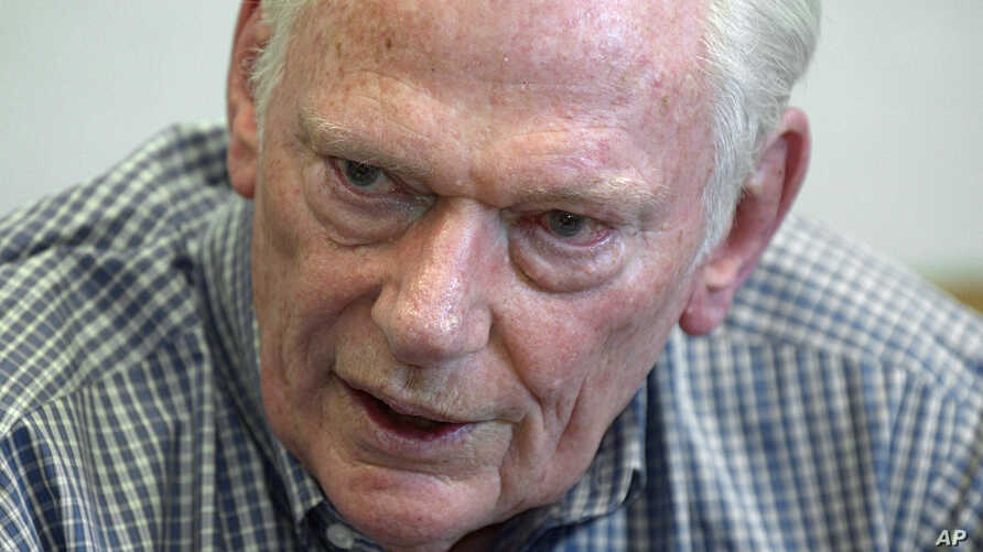 FILE - Herb Kelleher, co-founder, chairman emeritus and former CEO of Southwest Airlines, speaks in his office in Dallas, June 10, 2011. Kelleher died Jan. 3, 2019, at age 87.