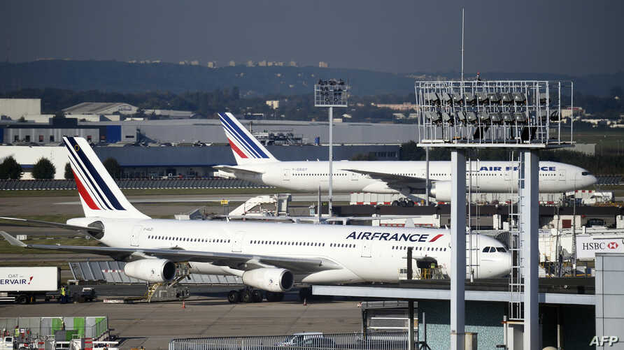 Orly airport, France, Sept. 18, 2014.