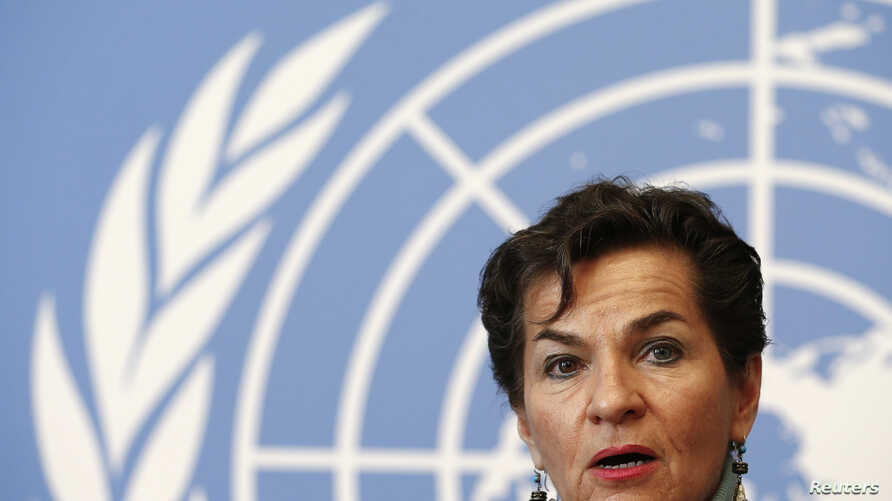 "The expansion of the draft climate change agreement will make subsequent talks ""a little bit more difficult,"" Christiana Figueres, executive secretary of the U.N. Framework Convention on Climate Change, a weeklong preparatory meeting in Geneva, Feb. ..."