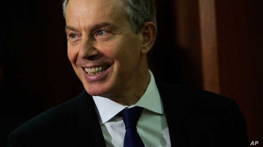 Tony Blair, 9 Dec 2009 (file photo)
