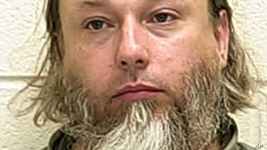 This undated photo provided by The Ford County Sheriff's Office in Paxton, Ill., shows Michael Hari. Hari, is the purported ringleader in the 2017 bombing of a Minnesota mosque.
