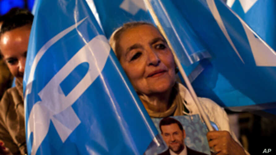 Conservatives Win Election in Spain