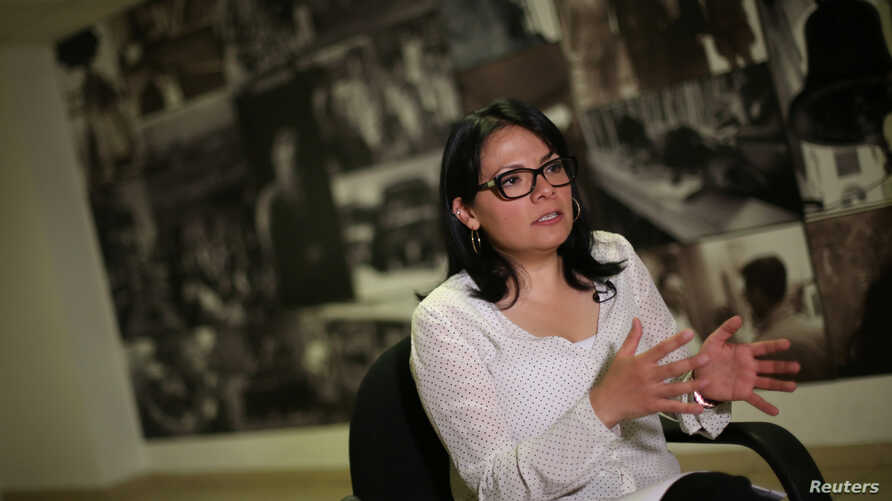 Cinthia Perez, a director of Mexican Commission for Refugee Assistance,  said during an interview in Mexico City, Dec. 15, 2016, that Mexico expects an increase in people seeking asylum from Central America next year.