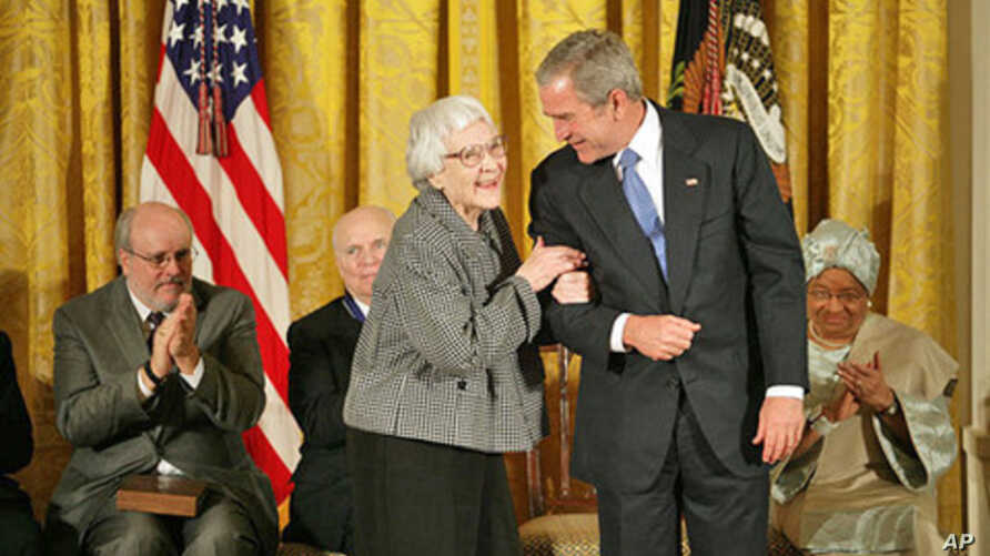 'To Kill a Mockingbird' author Harper Lee received the Presidential Medal of Freedom from President George W. Bush in 2007.