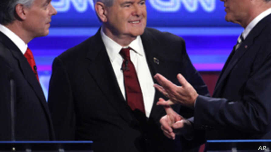 Gingrich Leads GOP Ahead of Iowa Caucuses