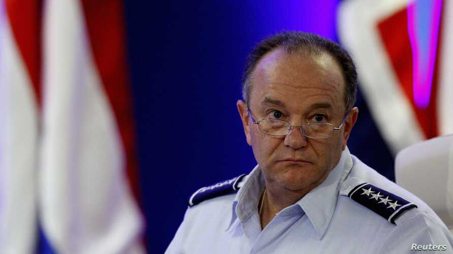 NATO's Supreme Allied Commander Europe, U.S. Air Force General Philip Mark Breedlove, attend military conference, Budapest, Sept. 14, 2013.