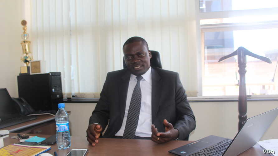 Dr. Martin Sirengo, the head of the National AIDS and STI Control Program, operates within the Ministry of Health and is involved with technical coordination of HIV and AIDS programs in Kenya, March 16, 2017. (R. Ombuor/VOA)