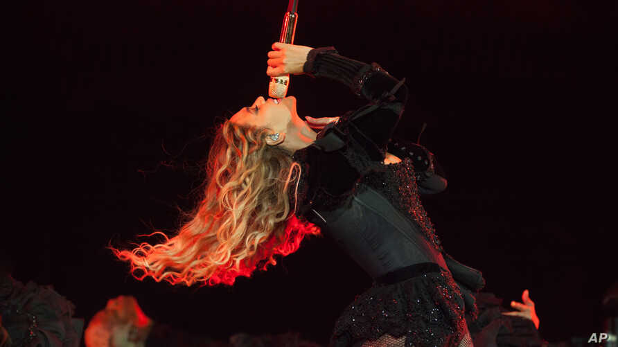 Beyonce performs during the Formation World Tour at Ford Field on Tuesday, June 14, 2016, in Detroit.