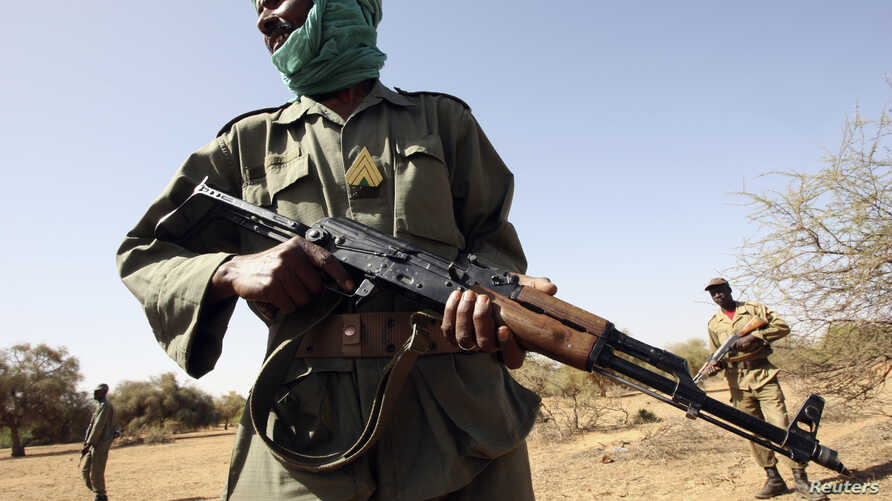 Mali's security forces are being advised to join Sahelian neighbors to defeat terrorists in the region. A soldier was training with U.S. advisers bear Goa in eastern Mail in 2006.