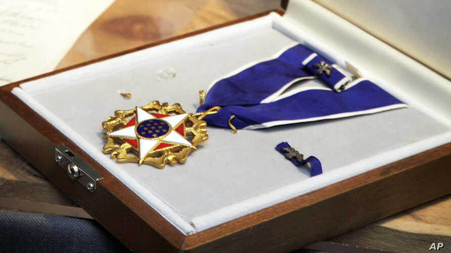 FILE -  Presidential Medal of Freedom.