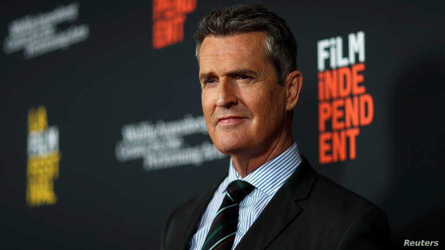 """Director and cast member Rupert Everett attends a premiere for """"The Happy Prince"""" in Beverly Hills, California, Sept. 25, 2018."""