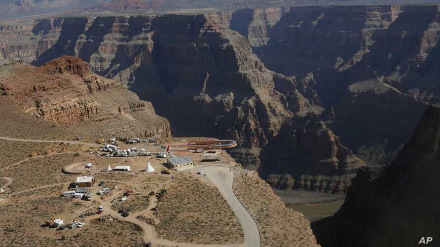 A view of the Hualapai Indian Reservation from the Grand Canyon West, Ariz. Many tribes are located on rural reservations, remote from polling places, which discourages members from voting in local, state and national elections.