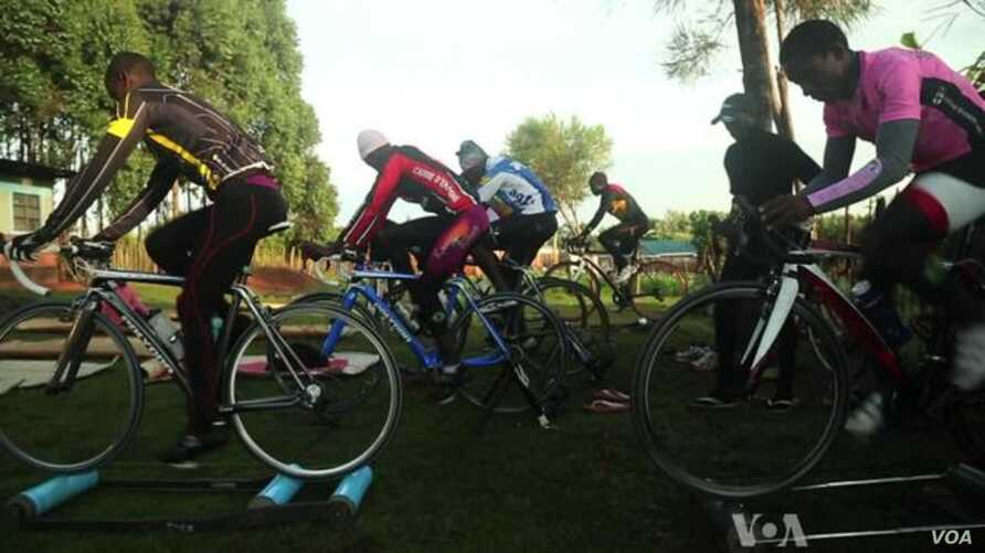 Kenyan Cycling Team Aims to Be as Famous as Kenyan Runners