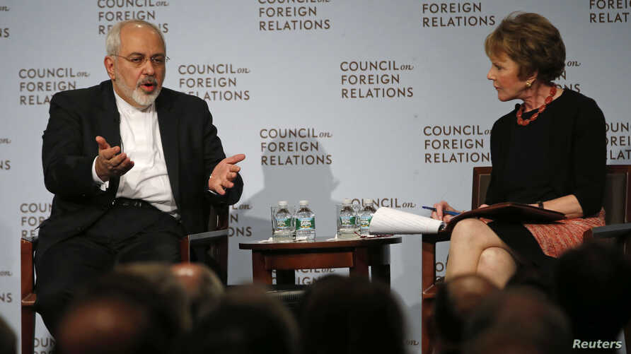 Iranian Foreign Minister Mohammad Javad Zarif speaks to the Council on Foreign Relations ahead of next week's UN General Assembly.